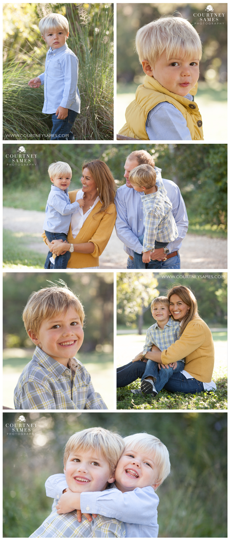 Austin, Texas – Fall Family Portrait Session
