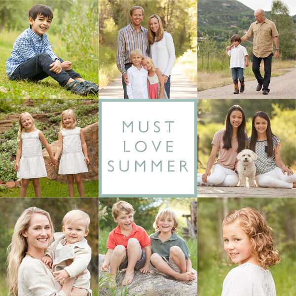 Must Love Summer! – Aspen Portrait Photography Sessions